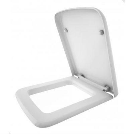 Сиденье с крышкой для унитаза Квадро МЛ с системой плавного опускания